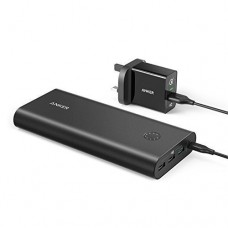 Anker PowerCore+ 26800 Power Bank & PowerPort+ 18W QC 3.0 USB Wall Charger Combo
