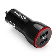 Anker 24W PowerDrive 2 Dual Port USB Car Charger