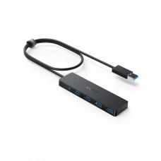 Anker [Upgraded Version] 4-Port USB 3.0 Hub, Ultra-Slim Data Hub with 2 ft Extended Cable