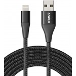 Anker Powerline+ II Lightning Cable (10ft), MFi Certified for Flawless Compatibility - Black