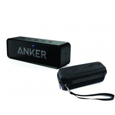 Anker SoundCore Portable Bluetooth Speakers with Travel Carry Case
