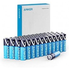 Anker Alkaline AA Batteries (48-Pack), Long-Lasting & Leak-Proof with PowerLock Technology (Non-Rechargeable)