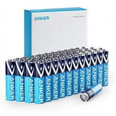 Anker Alkaline AAA Batteries (48-Pack), Long-Lasting & Leak-Proof with PowerLock Technology - (Non-Rechargeable)