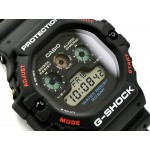 Casio G-Shock Water Resistant Digital Black Dial Men's Watch DW5900