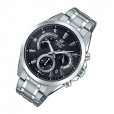 Casio Men's Edifice Silver Quartz Watch with Stainless-Steel Strap, 21.6 - EFV-580D-1AVUDF