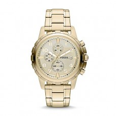 Fossil Men's Dean Quartz Stainless Steel Chronograph Watch - FS4867