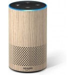 Amazon Echo (2nd Generation) - Smart speaker with Alexa - Limited Edition Oak Finish