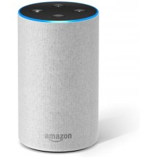 Amazon Echo (2nd Generation) - Smart speaker with Alexa – Sandstone Fabric