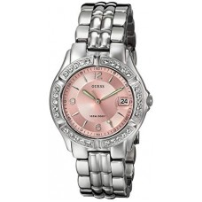 GUESS Women's Stainless Steel Two-Tone Crystal Accented Watch - G75791M