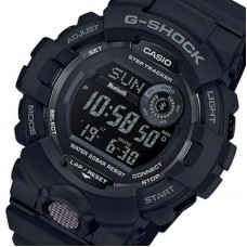 G-Shock Men's GBD-800-1BCR Black