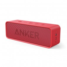 Anker SoundCore Bluetooth Speaker with 24-Hour Playtime - Red